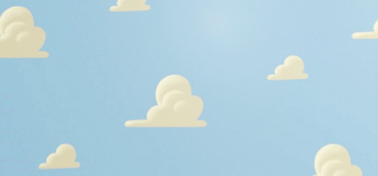 gallery for toy story wallpaper clouds