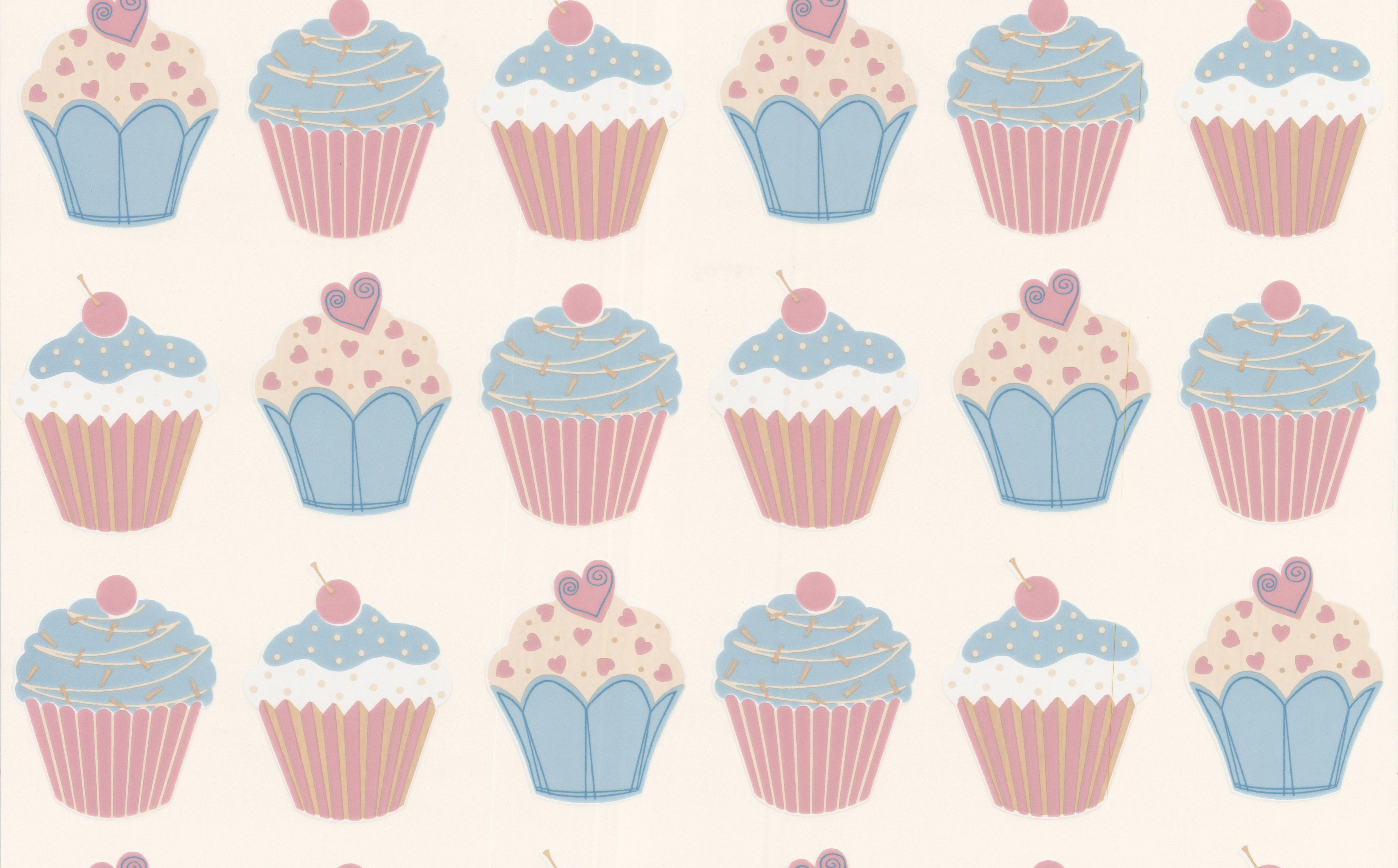 Cupcake Wallpaper   designer wallcovering   Designer Wallpapers 4926x3060