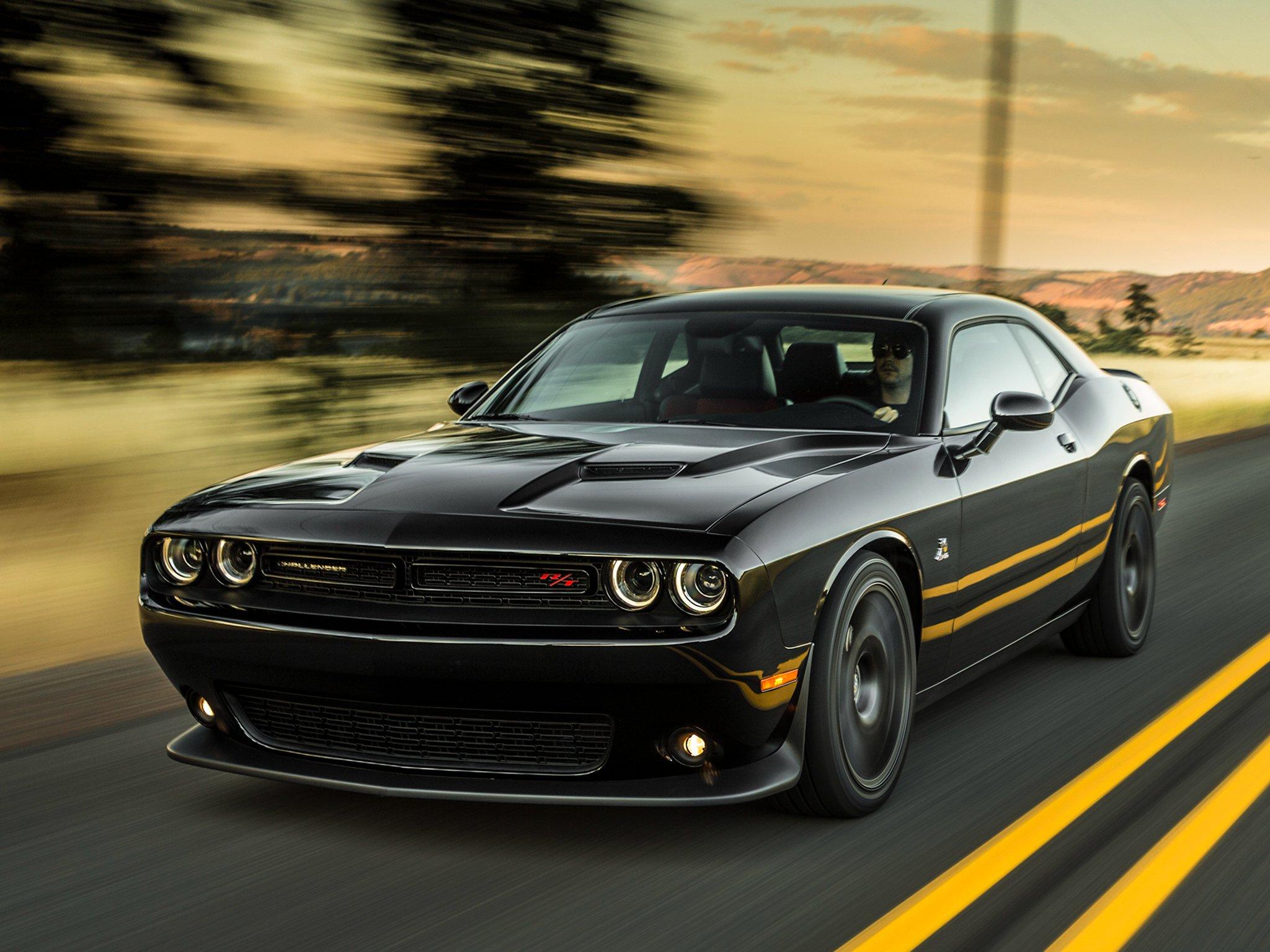 Black 2015 Dodge Challenger Wallpaper Wallpapersafari