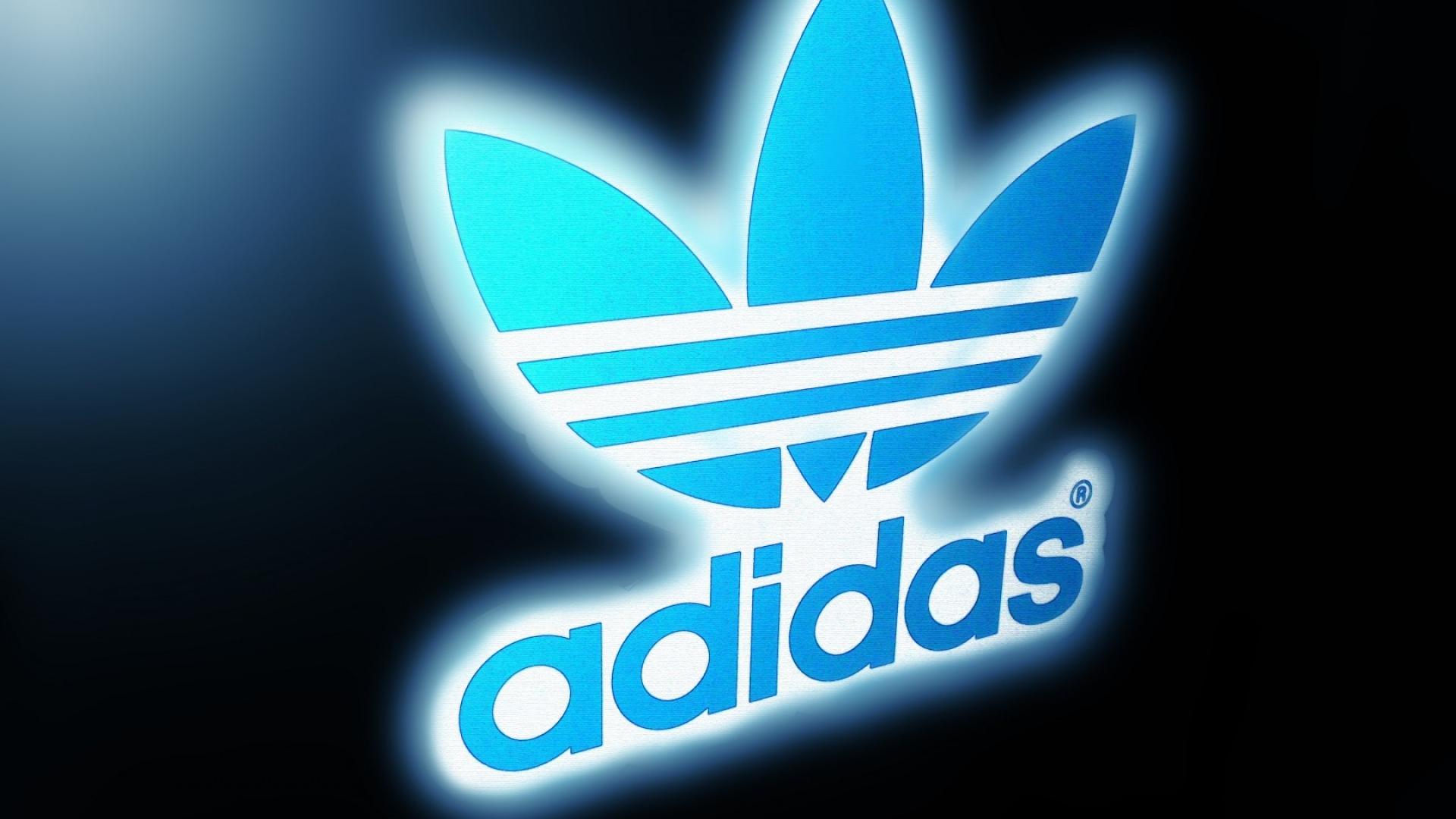 1920x1080 Adidas Style Originals Background Blue Logo Wallpaper 1920x1080