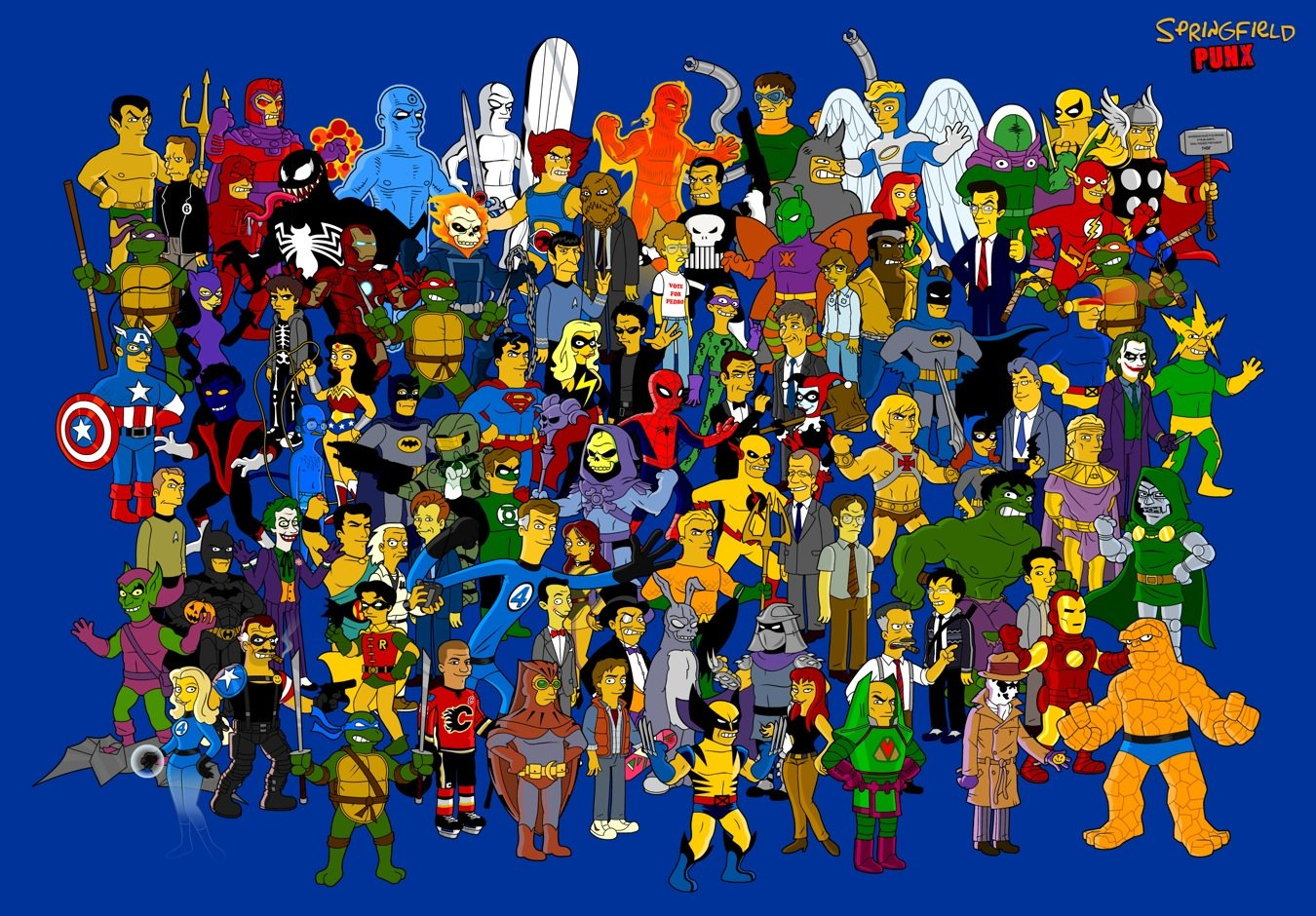 Most Popular Wallpapers famous cartoon characters 1350x940