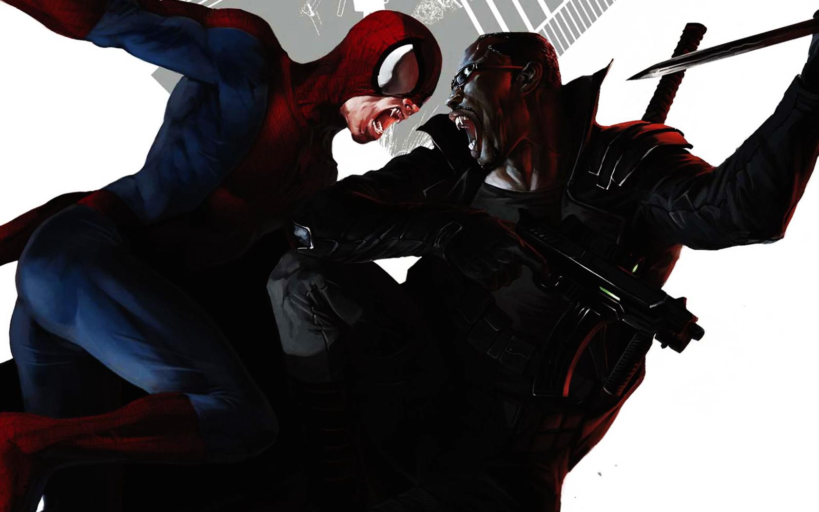 Spider Man Noir Wallpaper - WallpaperSafari