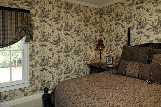 Wallpaper Wall Coverings How to Wallpaper over Wood Paneling 620x413