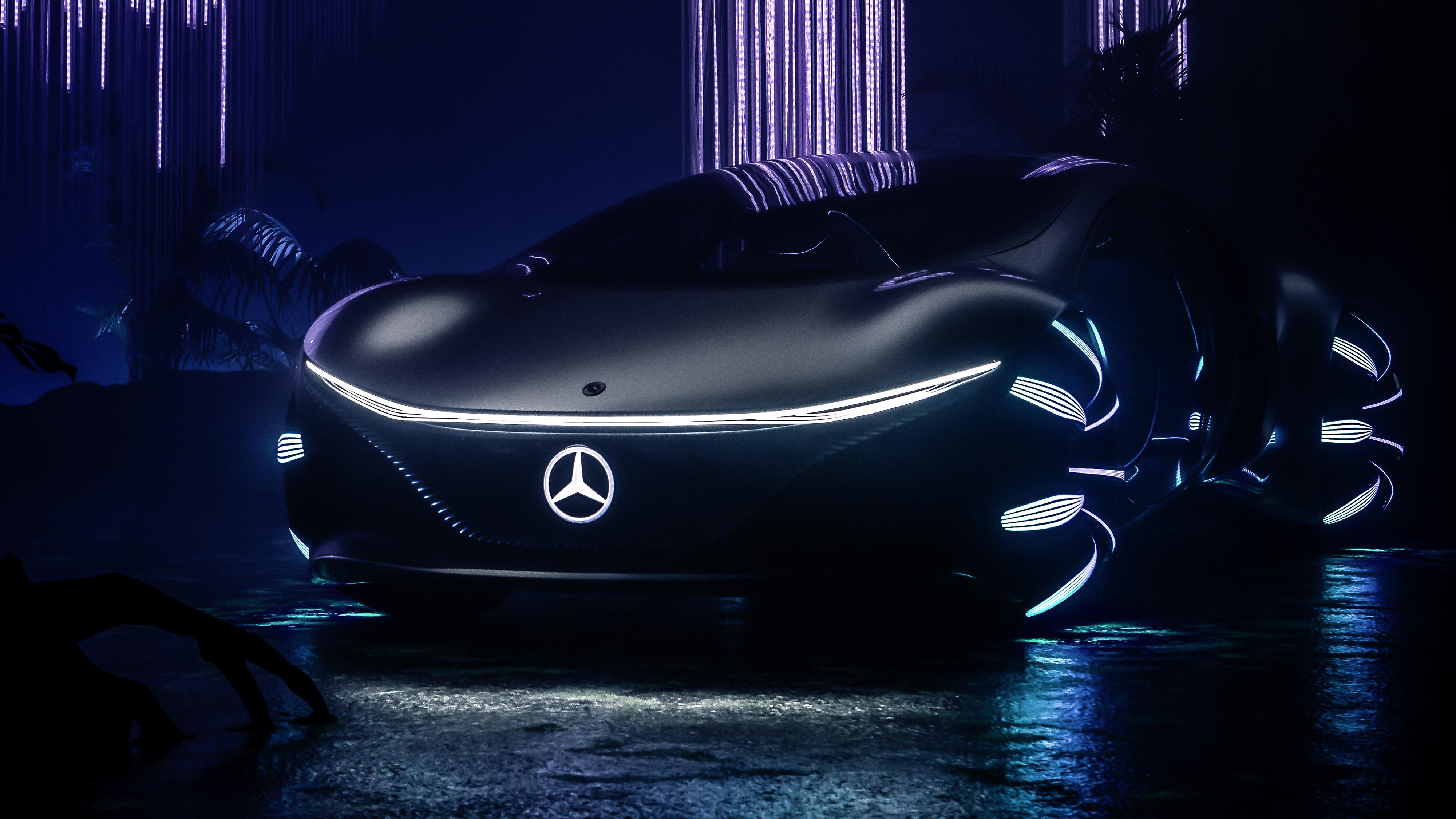 Mercedes Benz VISION AVTR 2020 4K Wallpaper HD Car Wallpapers 4000x2250
