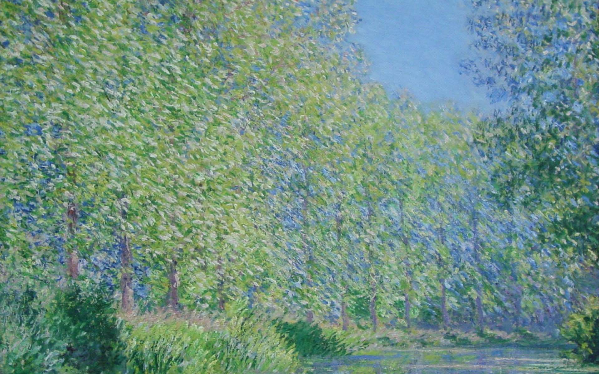 Claude Monet Paintings Wallpapers 1920x1200