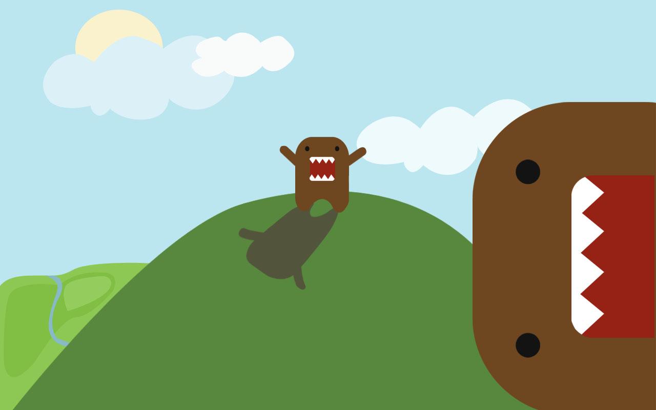 domo kun nhk s mascot wallpaper domo kun nhk s mascot wallpaper domo 1280x800