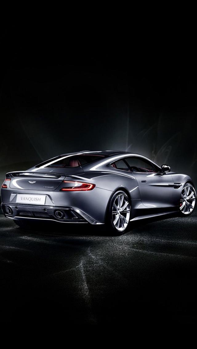 2013 Aston Martin Vanquish iPhone 5 Wallpaper iPhone 5 Wallpapers 640x1136