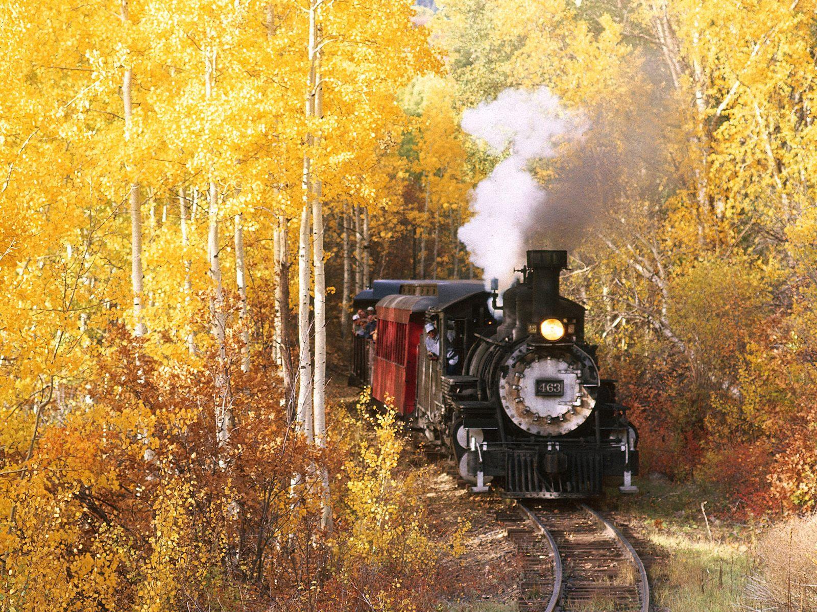 Desktop wallpaper downloads Cumbres Toltec Scenic Railroad New Mexico 1600x1200