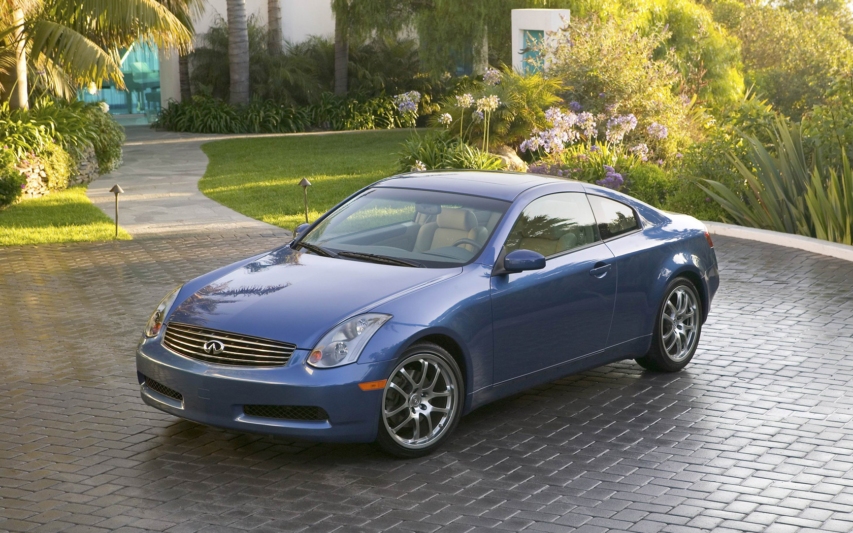 G35 Coupe   Widescreen Wallpaper Desktop Background Picture 1680x1050