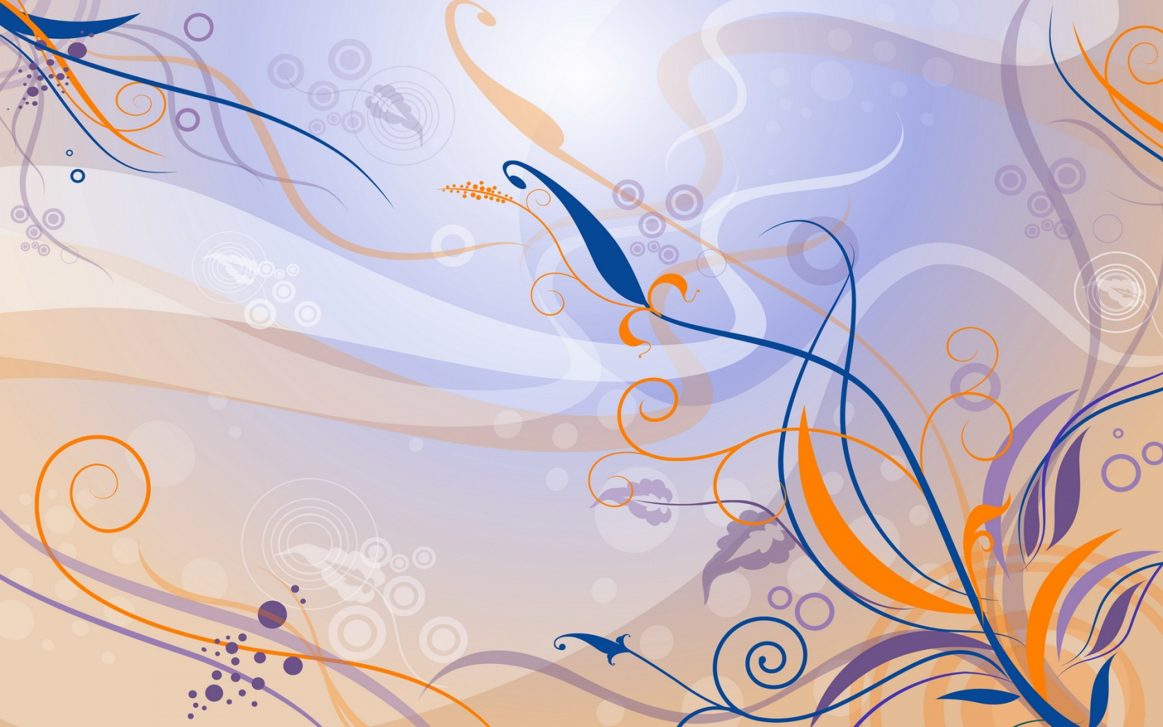 Yellow Blue Vector Design Wallpapers HD Wallpapers 1680x1050