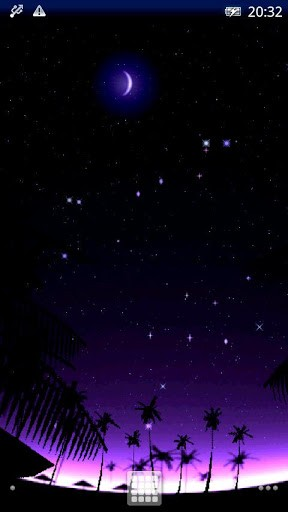 The shooting star falls in the blinking night starsIf you touch or 288x512