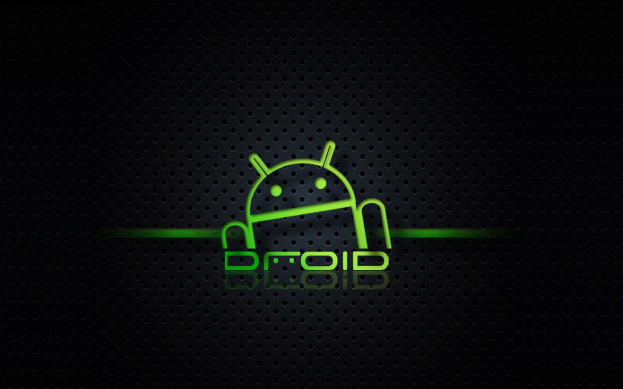 Droid Android Background Black Texture wallpaper download 1280x800
