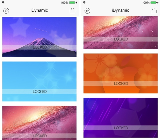How To Add New Dynamic Wallpapers To Iphone In Ios 7jpg Apps 650x568