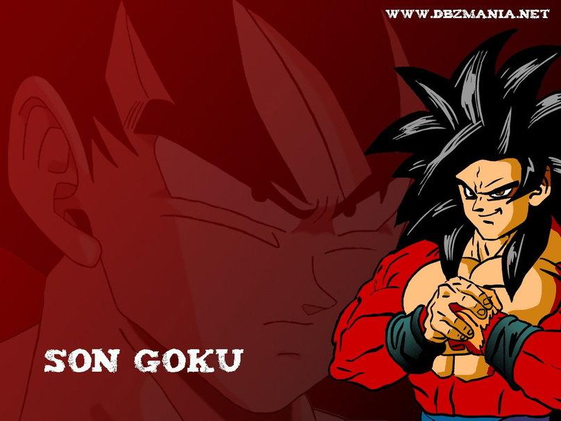 Son Goku Wallpaper 808x606