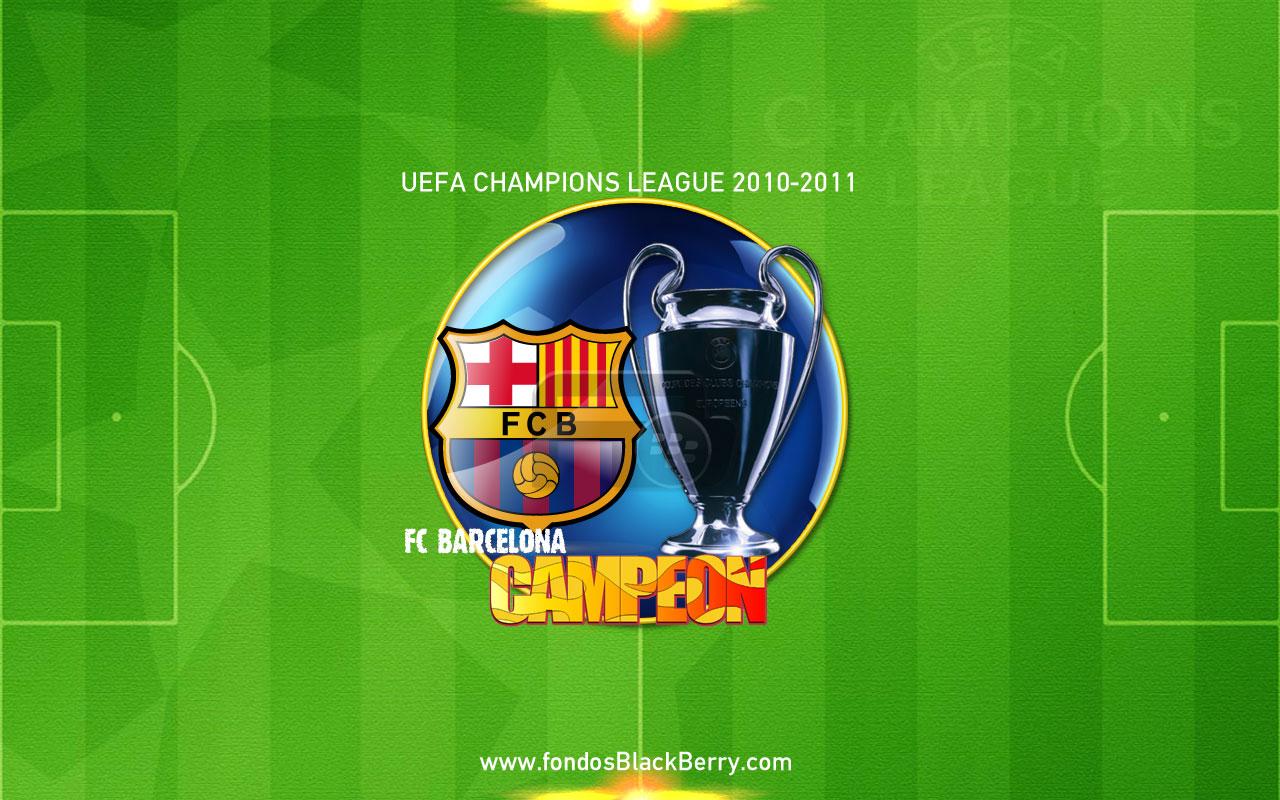 Campeon 2010 2011 UEFA Champions League Winner wallpaper download 1280x800