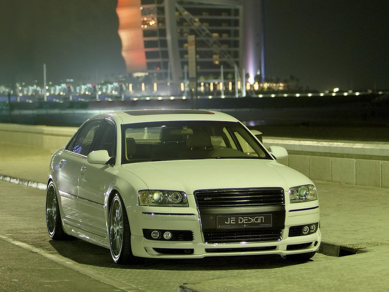 2006 JE Design Audi A8   Night Dubai   1280x960   Wallpaper 1280x960