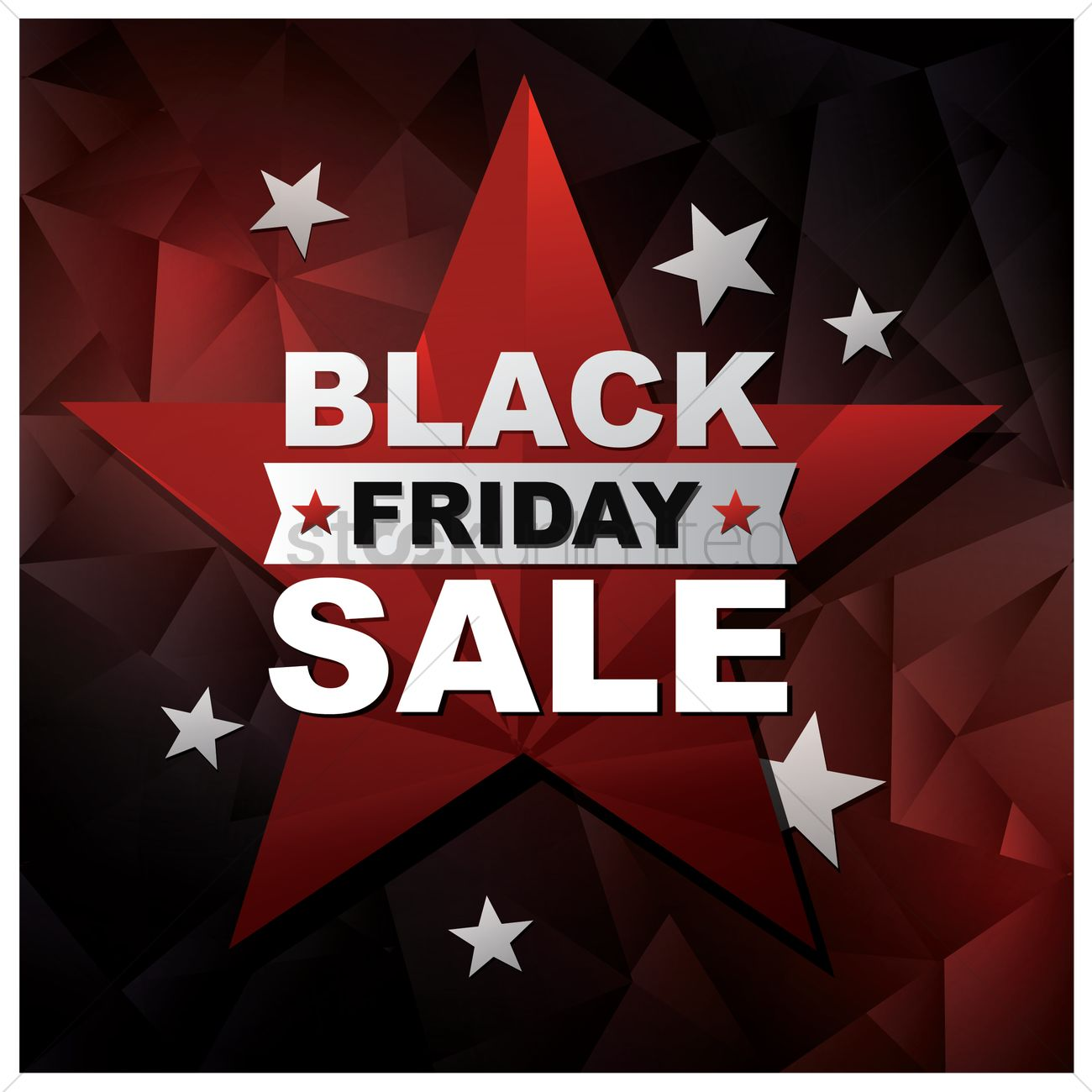 Black friday sale wallpaper Vector Image   1583926 StockUnlimited 1300x1300