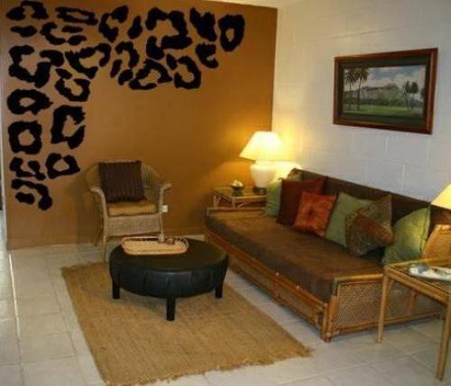 Wallpaper For Walls httpwwwwallhomenet6548cheetah print bedroom 500x428