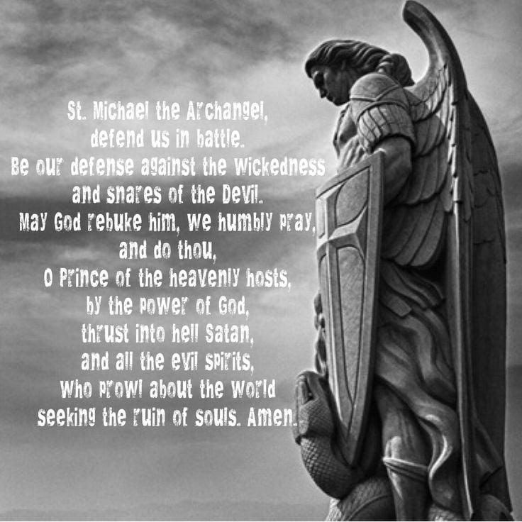 St Michael Prayer Wallpaper - WallpaperSafari