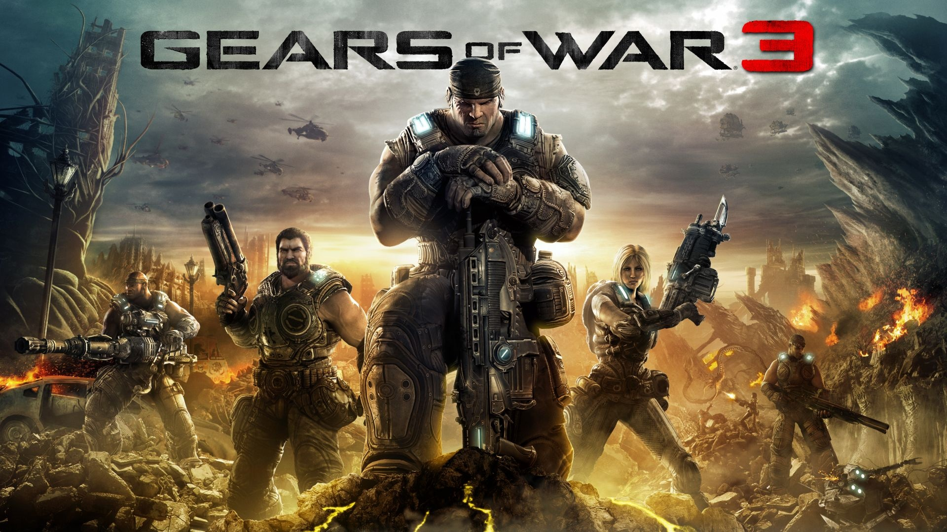 Gears of war 3 Desktop Wallpapers FREE on Latorocom 1920x1080