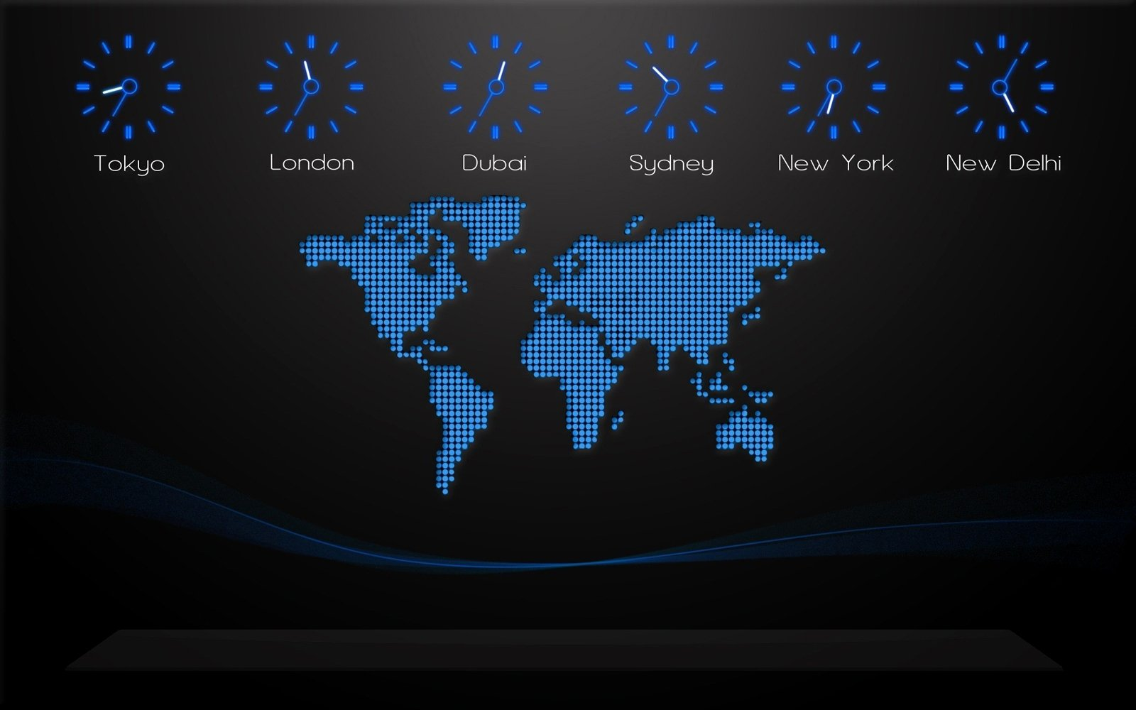 World Map on Your Desktop Creative Designs Desktop Wallpaper Download 1600x1000