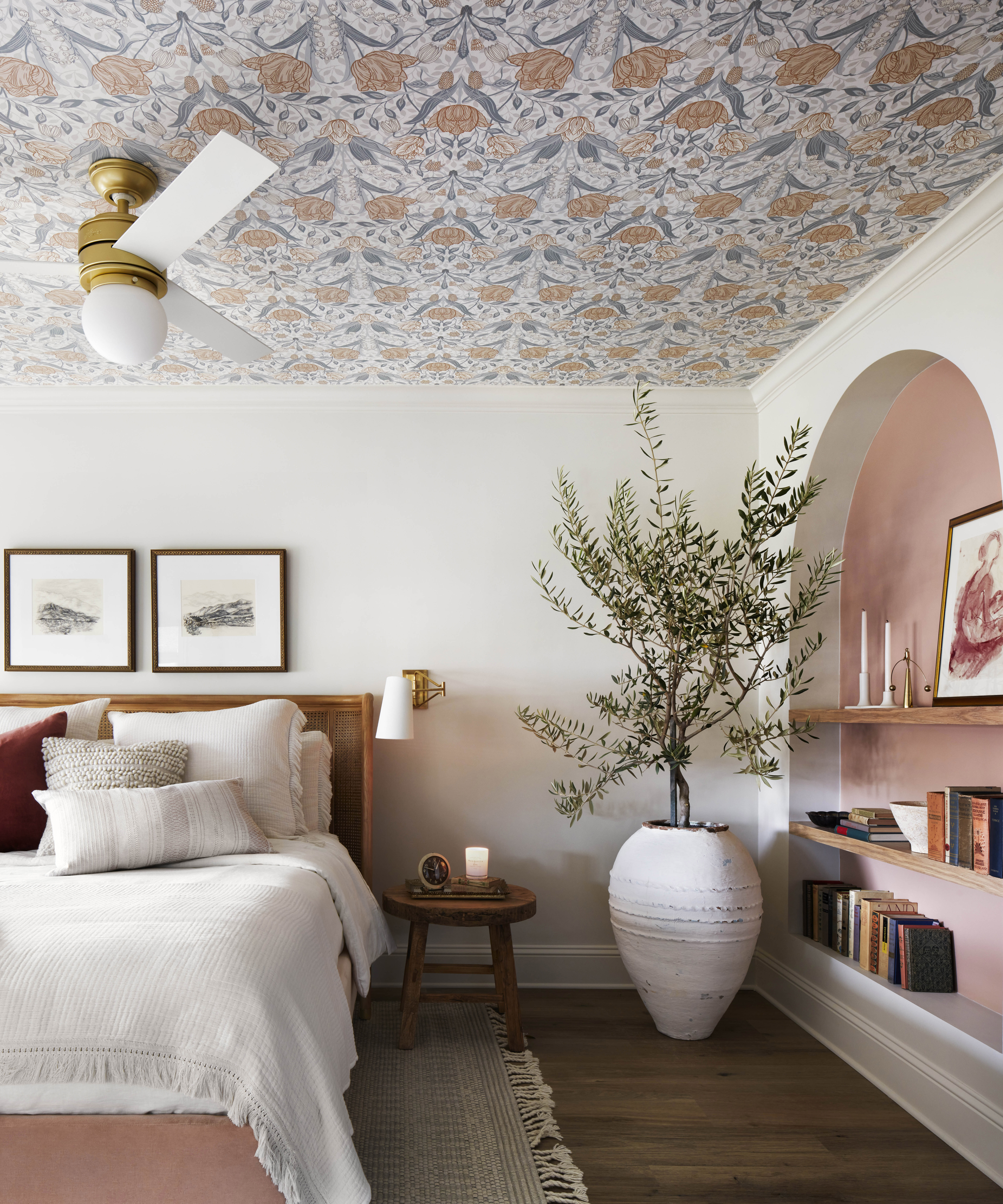 Joanna Gaines ceiling wallpaper this idea is trend setting 6788x8146