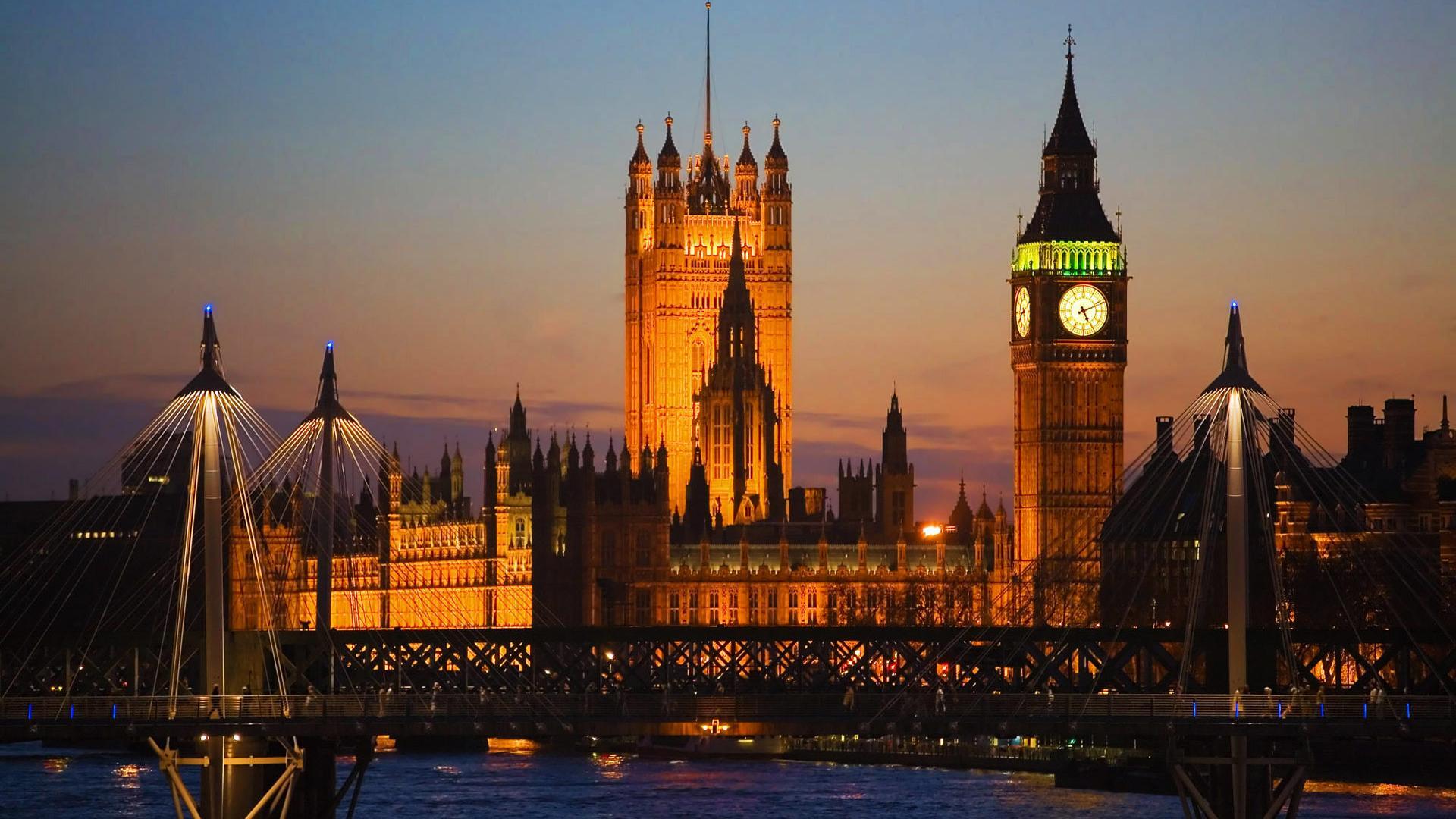 Big Ben, London, England HD 1920x1080