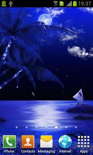 Midnight Beach Live Wallpaper for Android   Download Live Wallpaper 307x512