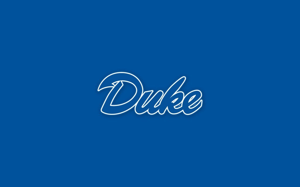 This minimalist Duke University desktop wallpaper is simply perfect 1024x640