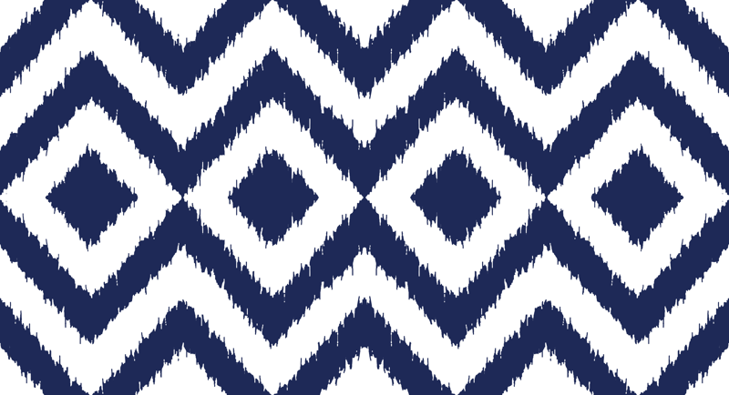 Blue and White Chevron Wallpaper - WallpaperSafari
