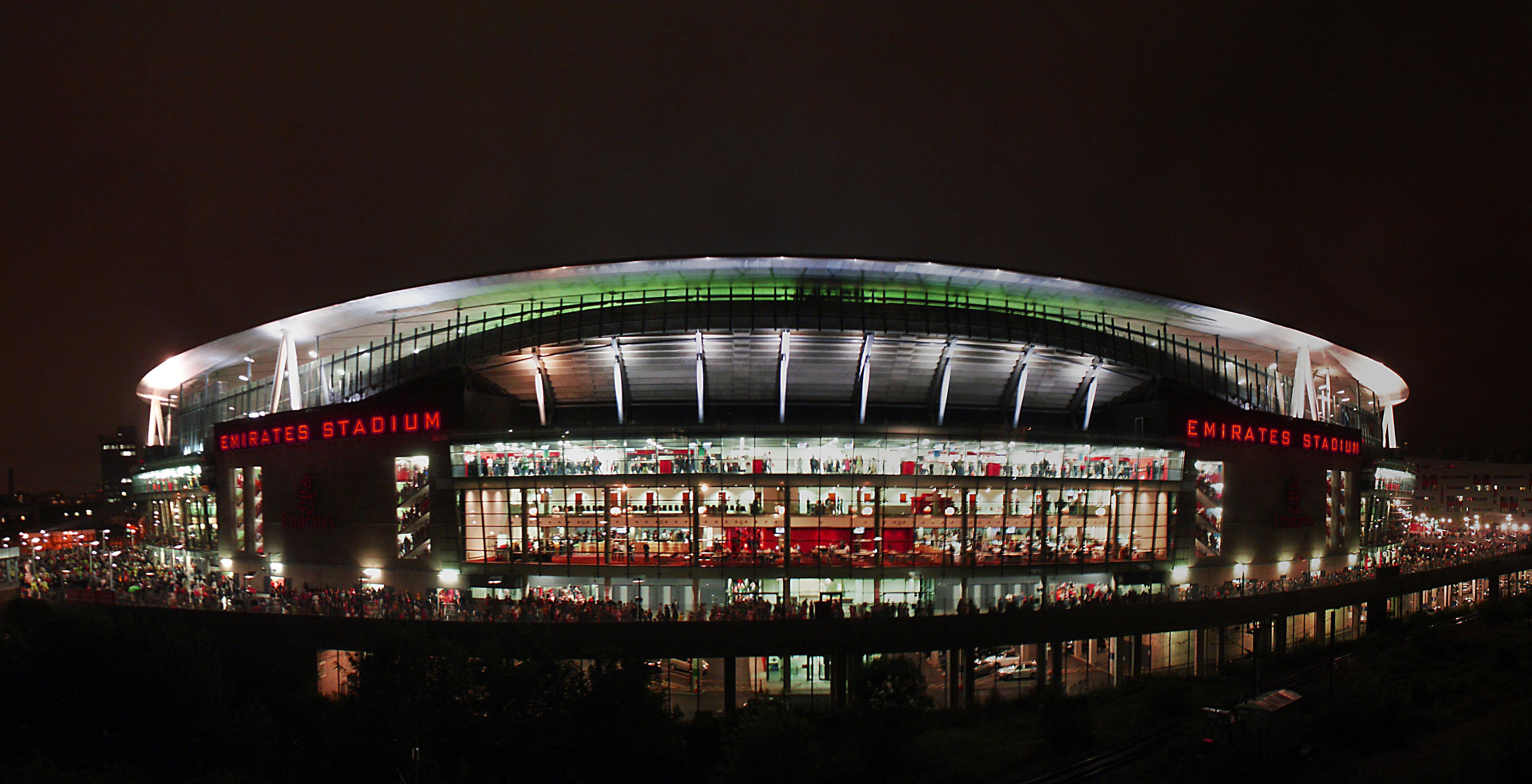Description Emirates Stadium Night   East side   Compositejpg 3752x1921