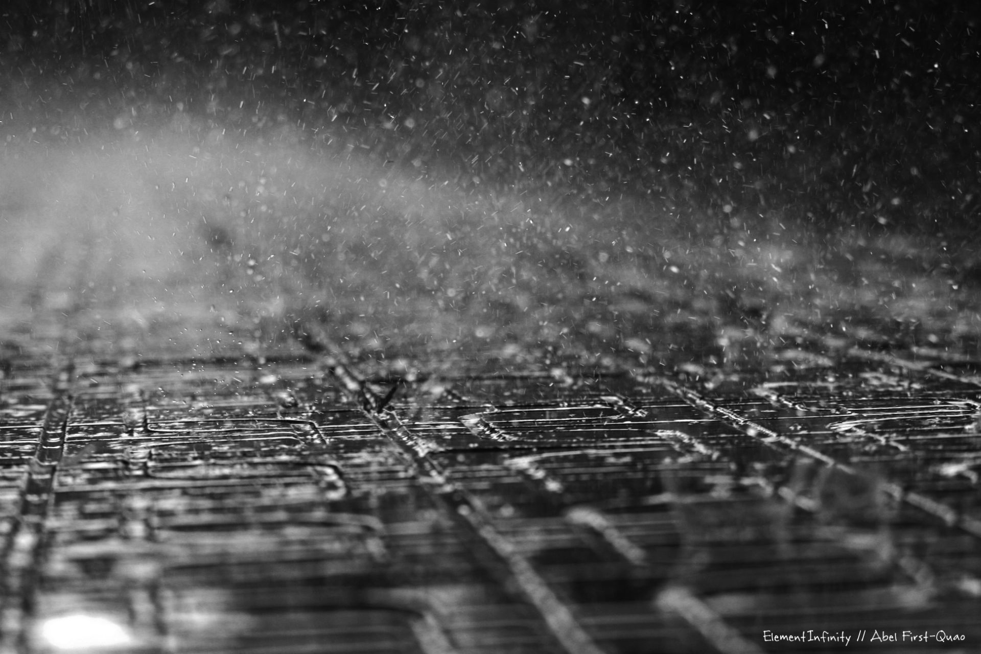 Sidewalk cobble rain storm wet mood wallpaper 1920x1280 34847 1920x1280