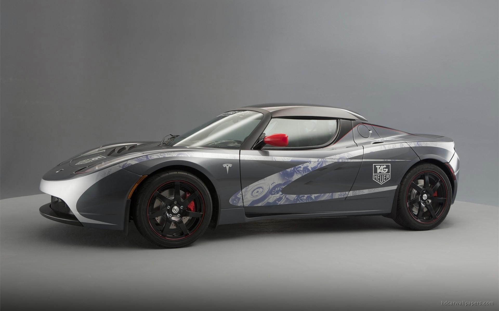 TAG Heuer Tesla Roadster 3 Wallpaper HD Car Wallpapers 1920x1200