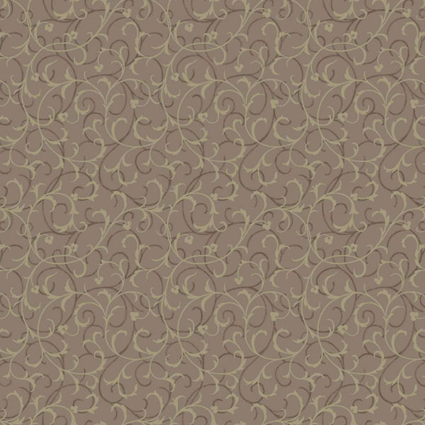 Brown and Gold Swirl Scroll Wallpaper   Wall Sticker Outlet 600x600