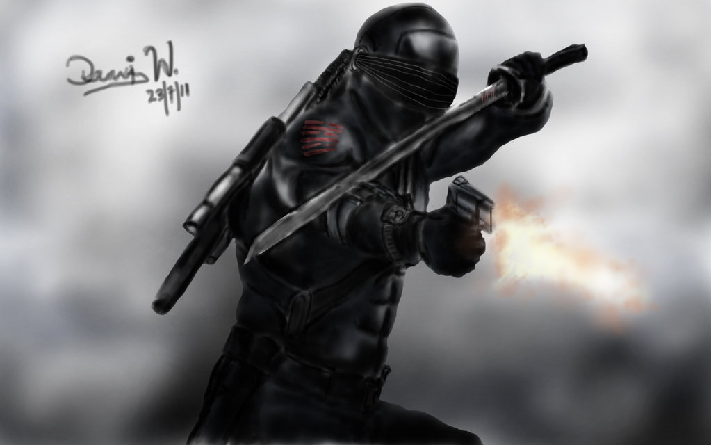 Gi Joe Snake Eyes Wallpaper