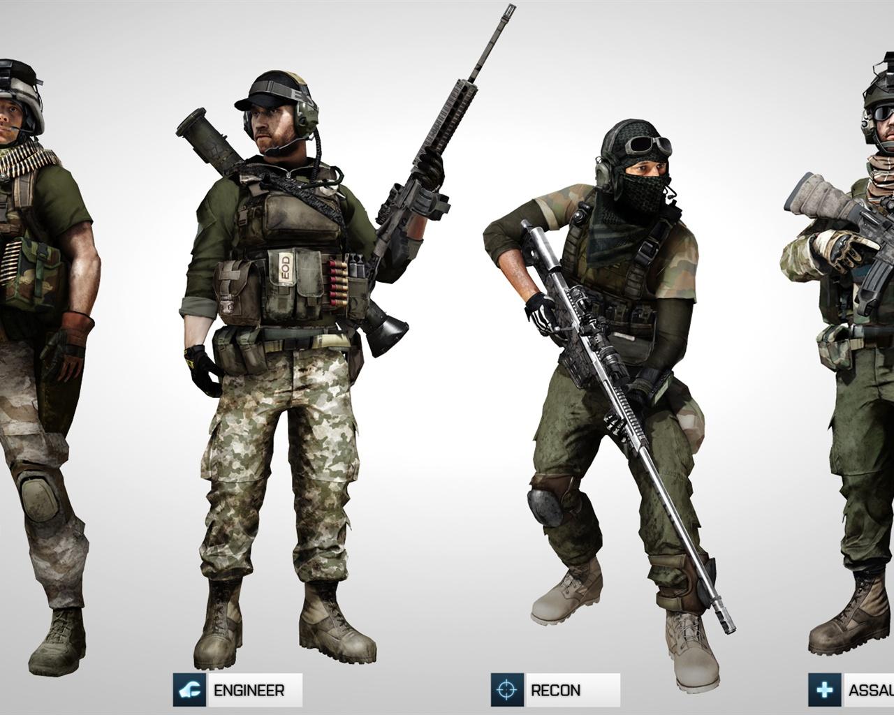 Battlefield 3 Multiplayer game 640x960 iPhone 44S wallpaper 1280x1024