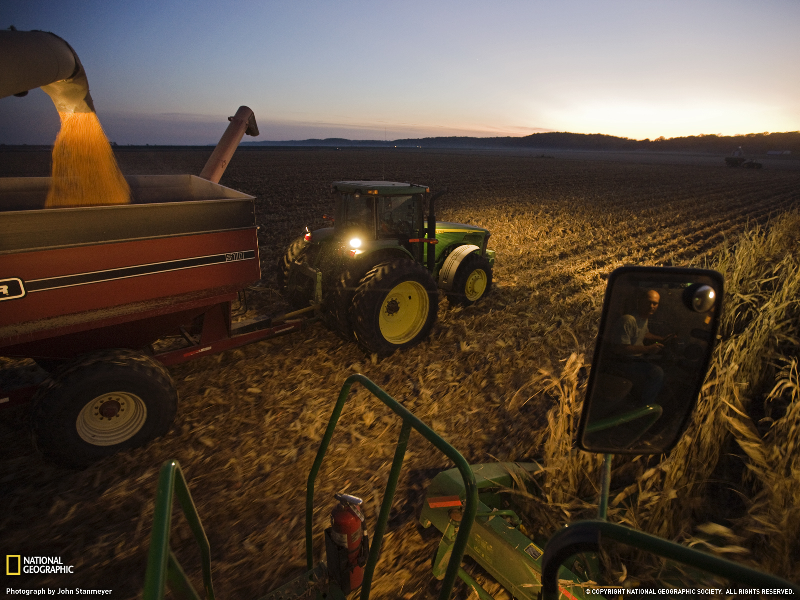 Corn Farmer Photo Iowa Wallpaper National Geographic Photo of the 1600x1200