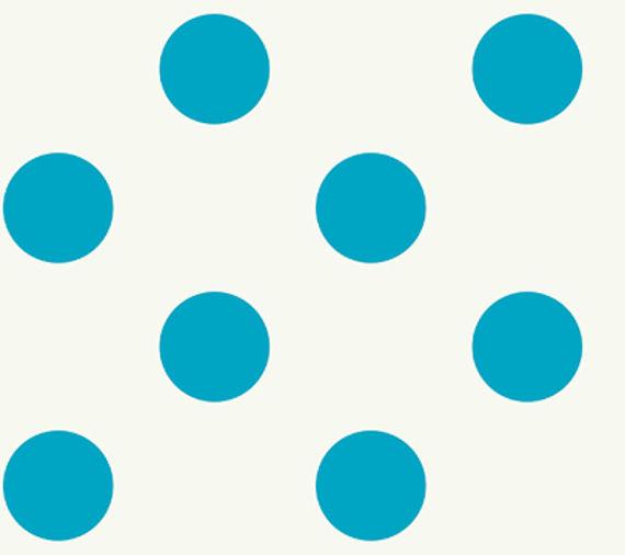 Royal Blue Polka Dot Border Blue Polka Dot Wallpap...