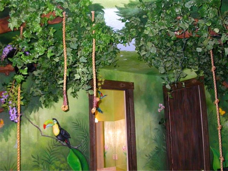 Jungle Baby Room Curtains