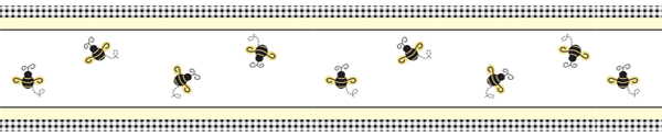 bumble bee wallpaper border item border bumblebee bumble bee wall 600x125