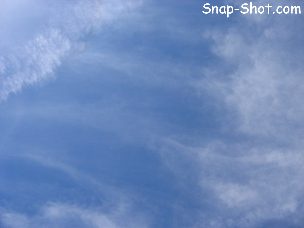 free picture and wallpaper of clouds wispy blue sky 1024x768