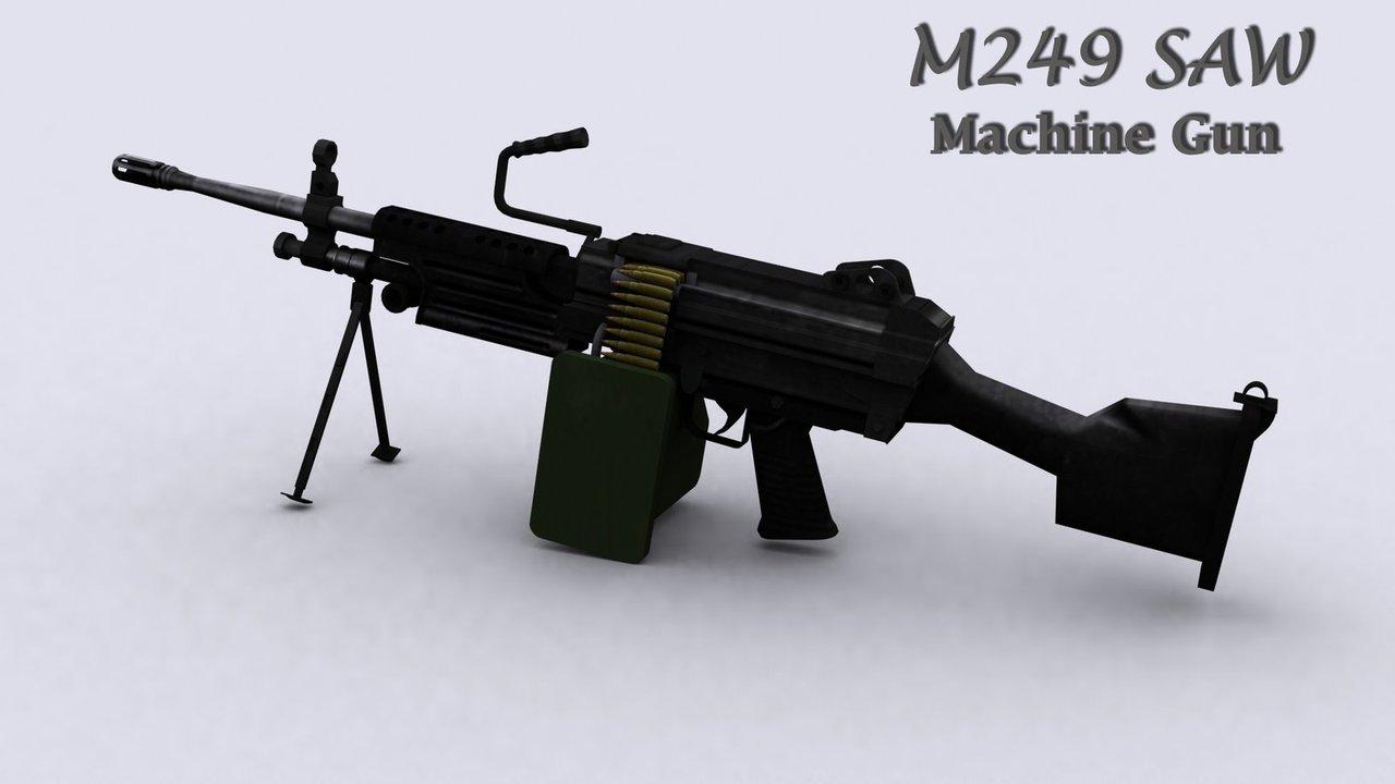 M249 SAW Wallpaper - WallpaperSafari