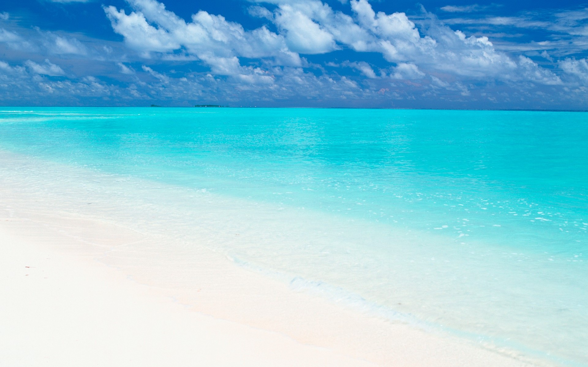 sea maldives wallpaper beach water sky scene connected color 1920x1200