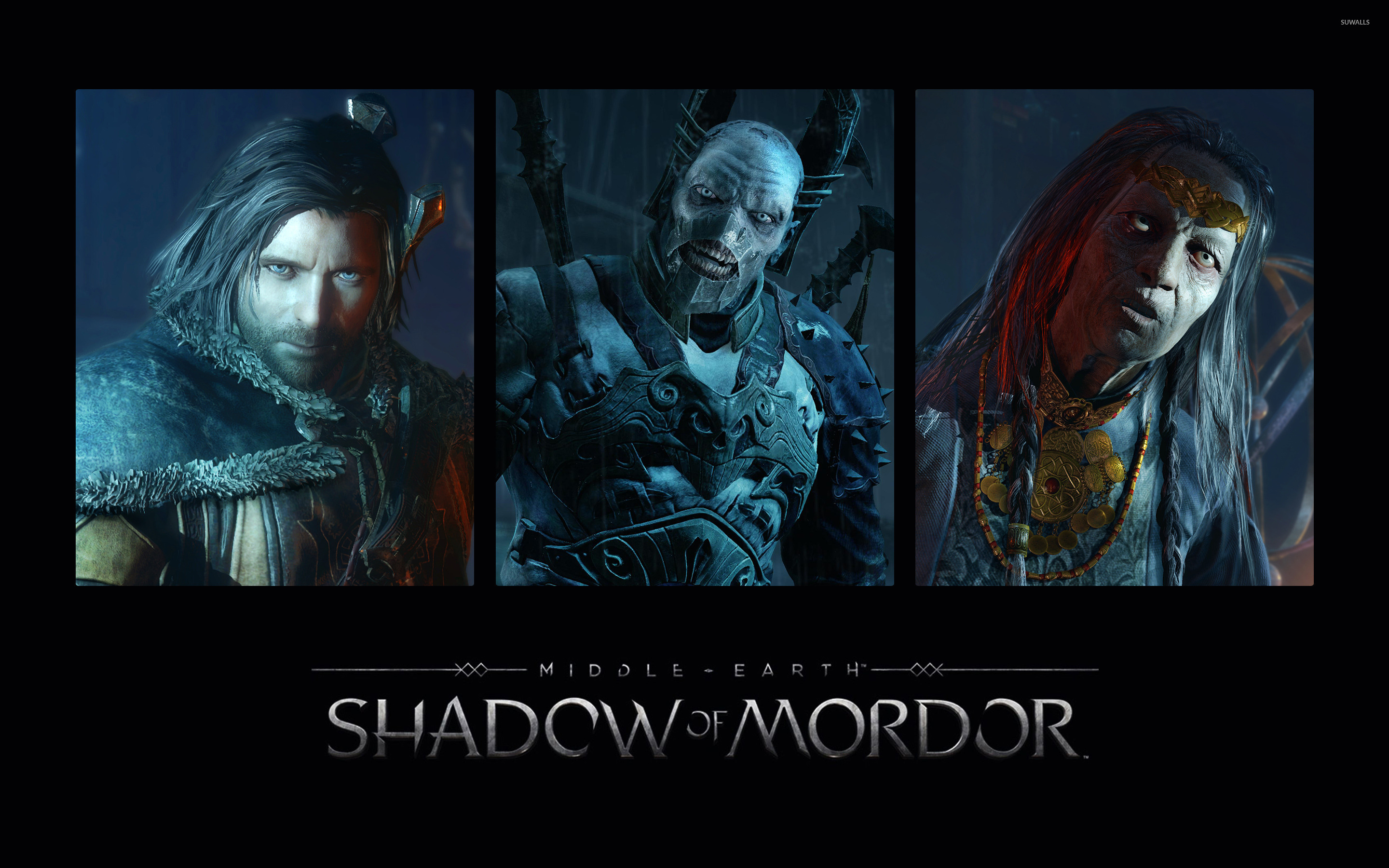 Queen Marwen   Middle earth Shadow of Mo wallpaper   Game wallpapers 2880x1800