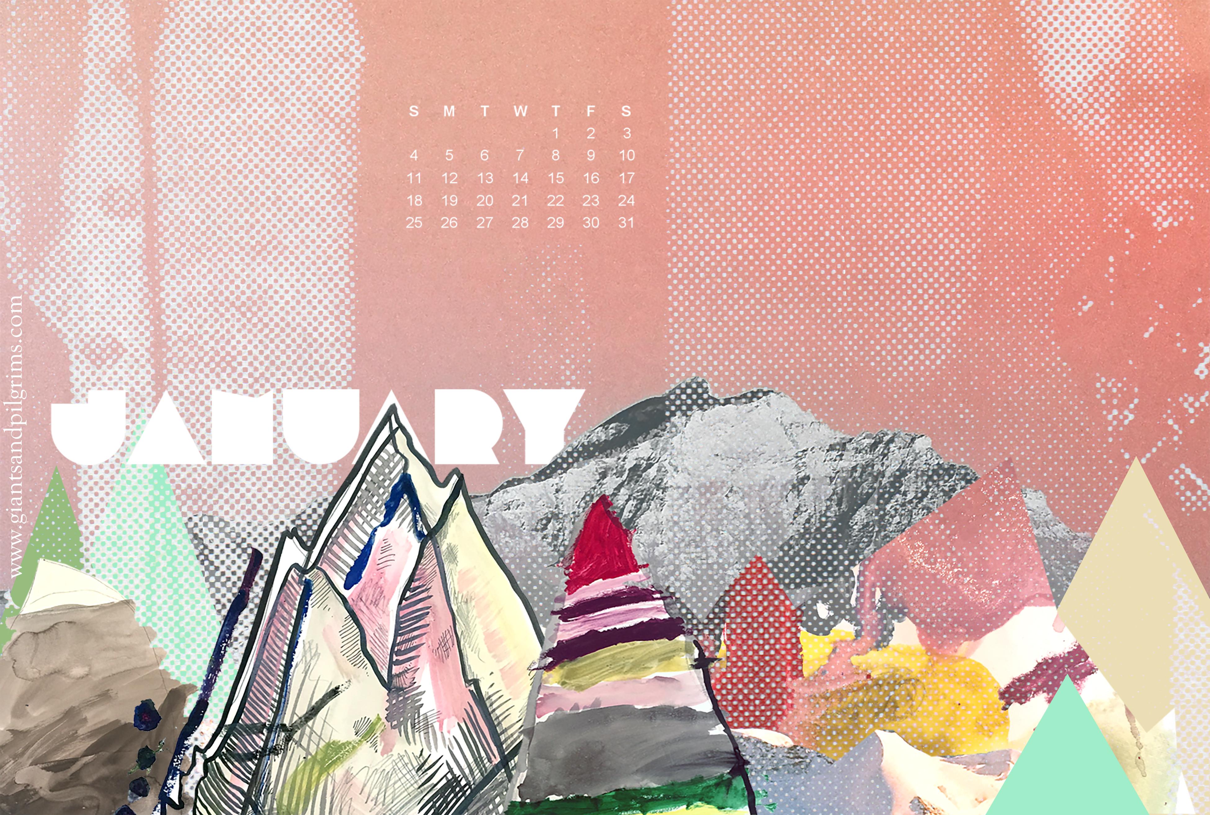 January 2015 Desktop and Phone Wallpaper Giants Pilgrims 3900x2628