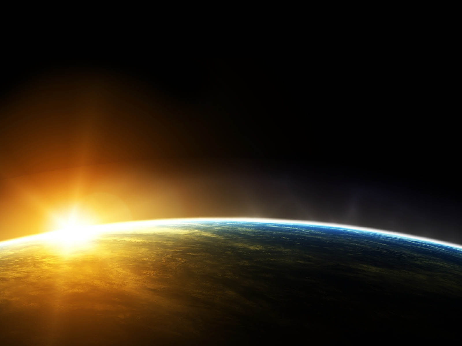 Sunrise In Space Wallpapers Images Photos Pictures and Backgrounds 1600x1200