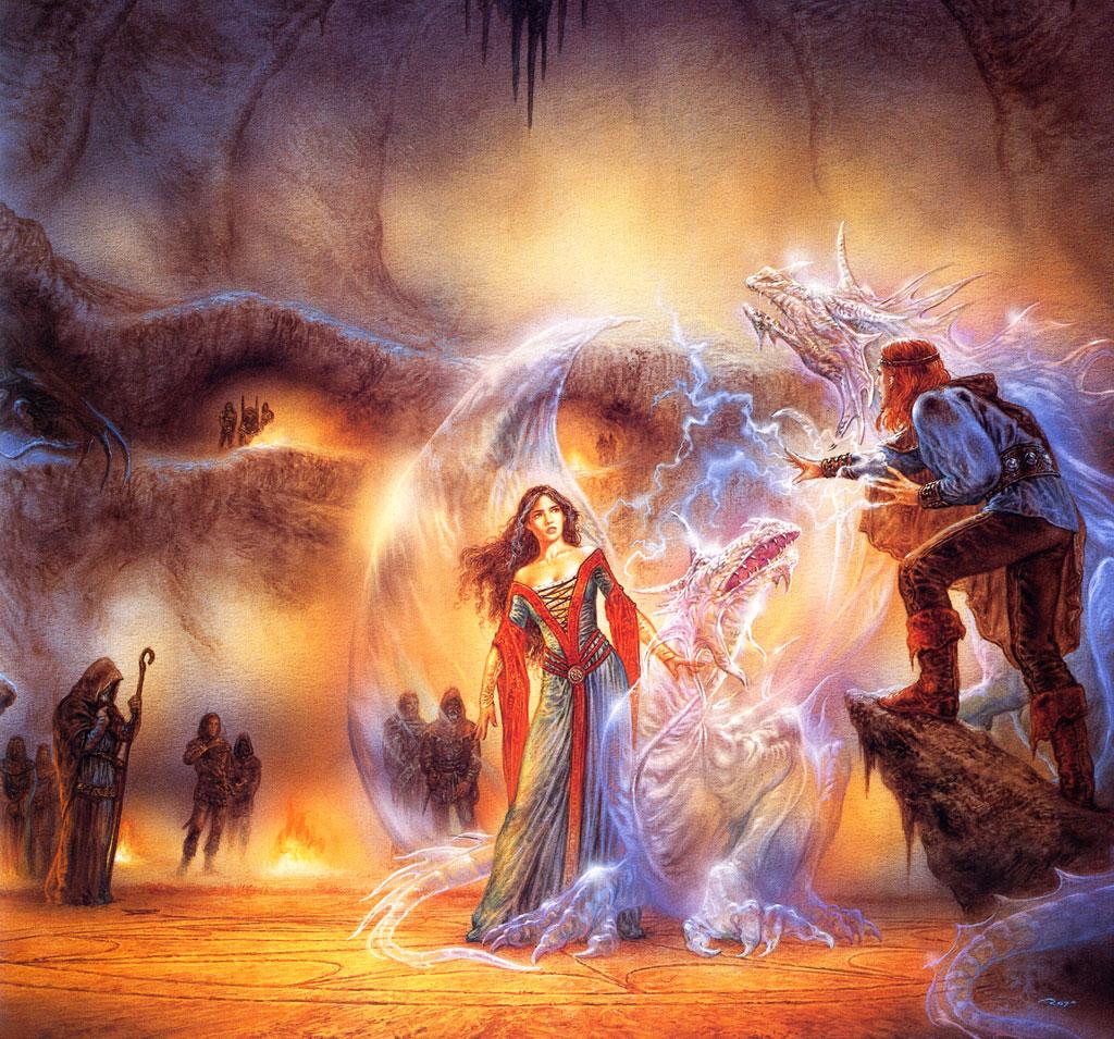 [50+] Free Dragon And Wizard Wallpaper On WallpaperSafari