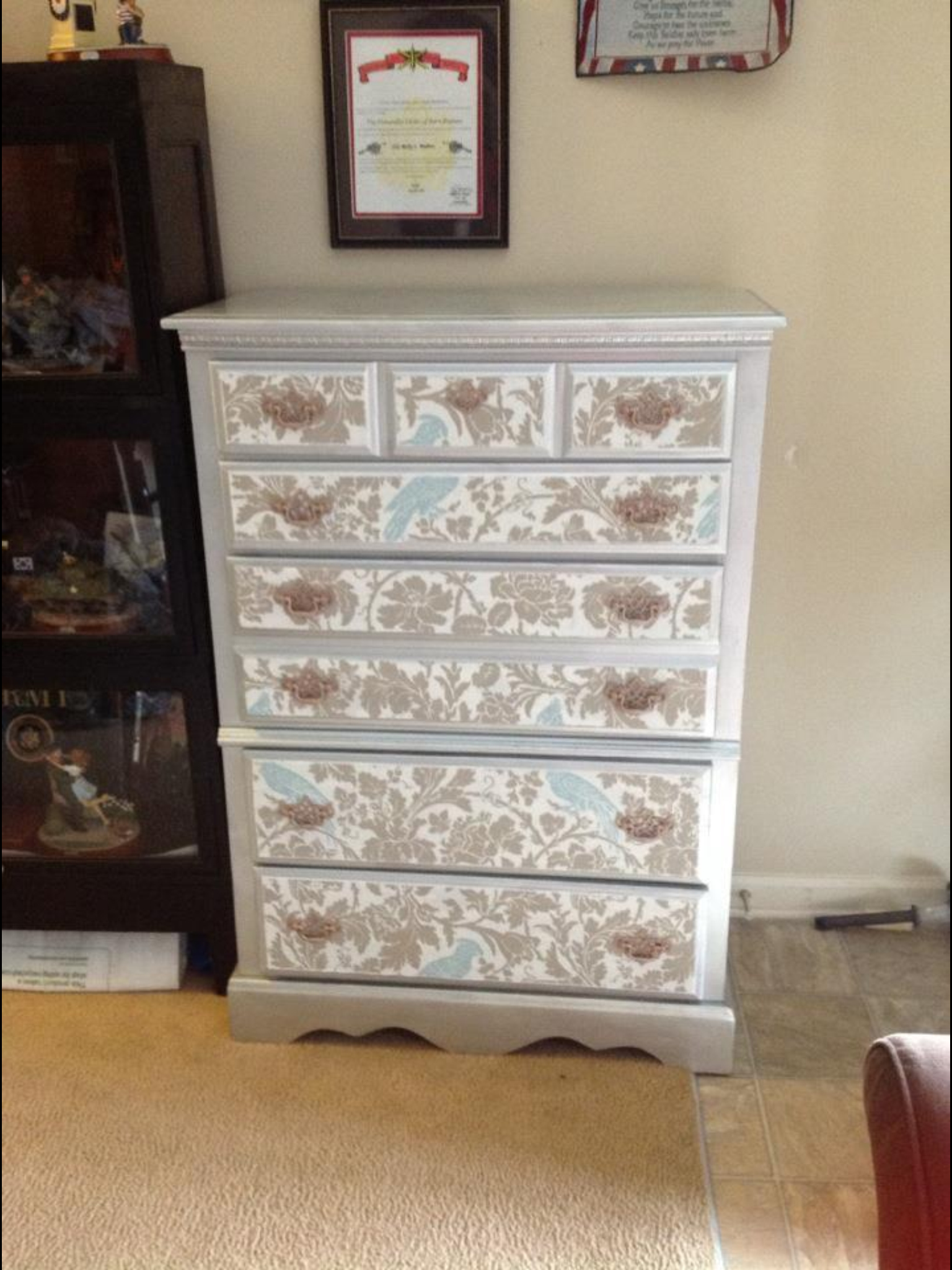 47+] How to Wallpaper Furniture on