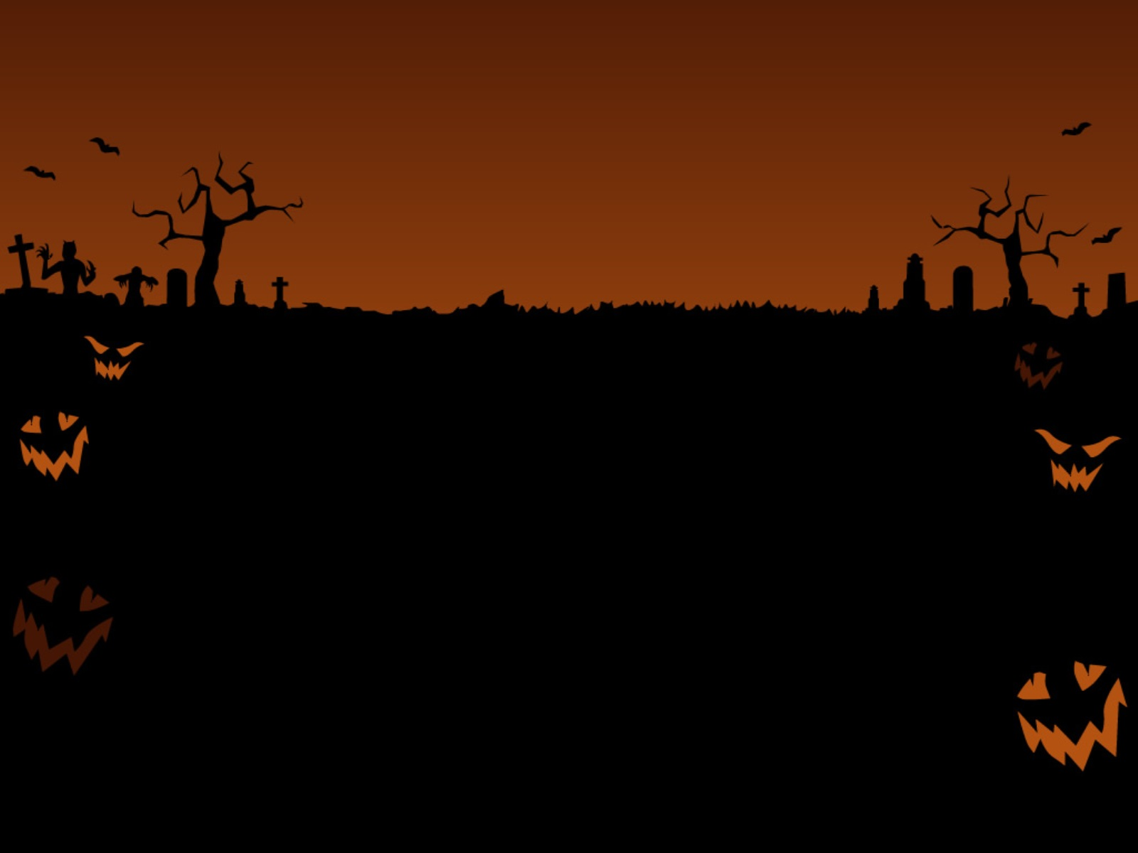 Halloween Background Wallpapers Backgrounds 1600x1200