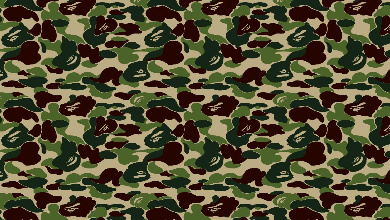 Supreme Camo Wallpaper Iimgurcom Pictures 1360x768